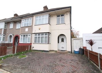 Thumbnail 3 bed end terrace house to rent in Chadwell Heath Lane, Chjadwell Heath, Essex