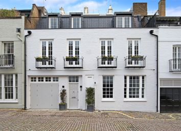 Thumbnail 4 bedroom terraced house for sale in Ennismore Mews, London