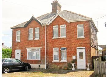 Thumbnail 2 bedroom semi-detached house for sale in Sea View Road, Poole