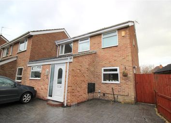 Thumbnail 3 bed semi-detached house for sale in Bridle Close, Chellaston, Derby