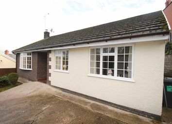 Thumbnail 3 bed detached bungalow for sale in Canal Side, Froncysyllte, Llangollen