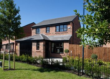 Thumbnail 3 bed detached house for sale in Off Crompton Way, Lowton