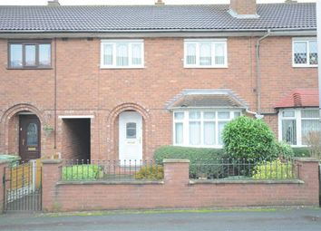Thumbnail 3 bed terraced house to rent in Meaford Avenue, Stone