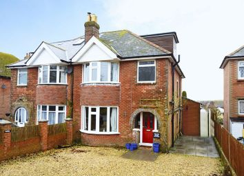 Thumbnail 4 bed semi-detached house for sale in Bridport Road, Dorchester