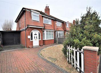 Thumbnail 3 bed semi-detached house for sale in Collingwood Avenue, St Anne's, Lytham St Anne's, Lancashire