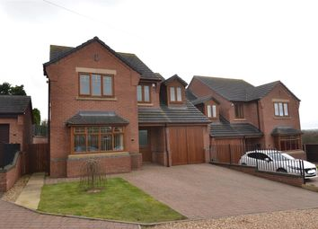 Thumbnail 4 bed detached house for sale in Shawms Crest, Radford Rise, Stafford