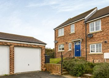 Thumbnail 3 bed semi-detached house to rent in Brockwell Court, Brandon, Durham