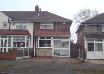 Thumbnail 2 bed semi-detached house to rent in Old Oscott Lane, Great Barr