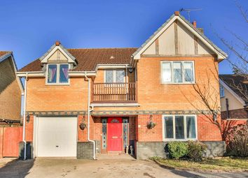Thumbnail 4 bed detached house for sale in Croft Gardens, Sully, Penarth