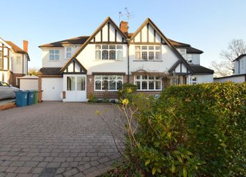 Thumbnail 5 bed semi-detached house for sale in The Lawns, Pinner