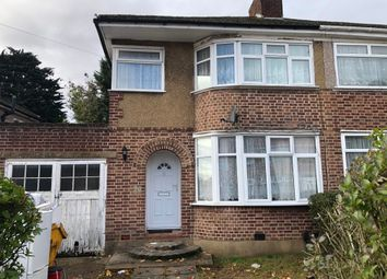 Thumbnail 3 bed semi-detached house to rent in Bellamy Drive, Stanmore