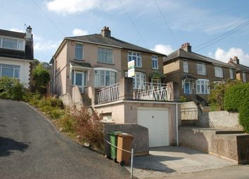 Thumbnail 3 bed semi-detached house for sale in Underlane, Plympton, Plymouth
