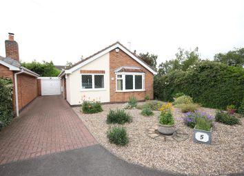 Thumbnail 2 bed detached bungalow for sale in Bancroft Close, Hilton, Derby