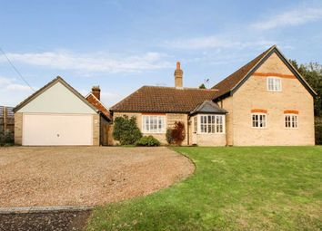 Thumbnail 4 bed detached house for sale in Forest Road, Onehouse, Stowmarket