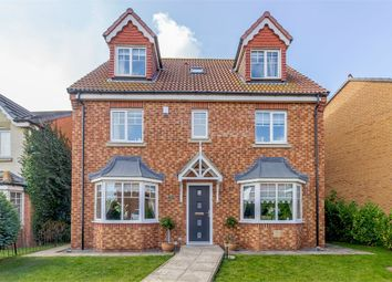 Thumbnail 6 bed detached house for sale in Lady Mantle Close, Hartlepool, Durham