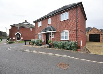 Thumbnail 4 bed detached house for sale in Prince William Way, Diss