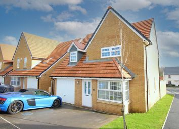 Thumbnail 3 bed detached house for sale in Lon Gwenant, Pontrhydyrun, Cwmbran