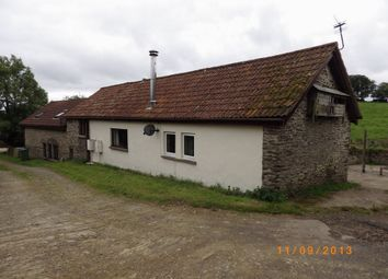Thumbnail 1 bed barn conversion to rent in Brayford, Barnstaple