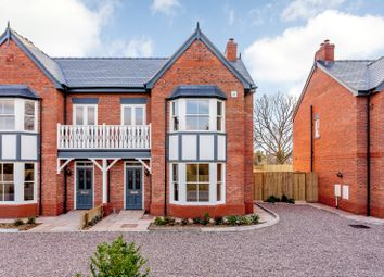 Thumbnail 4 bed semi-detached house for sale in The Dandelions, Brown Heath Road, Waverton, Chester