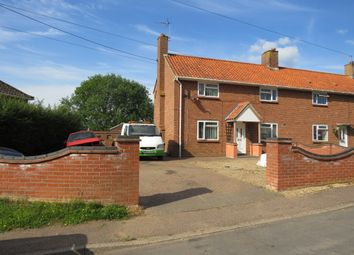 Thumbnail 3 bed semi-detached house for sale in School Lane, Redenhall, Harleston