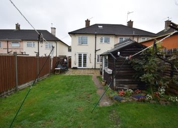 Thumbnail 3 bedroom semi-detached house for sale in Wigley Road, Netherhall, Leicester