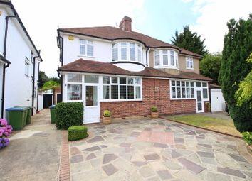 Thumbnail 3 bed semi-detached house for sale in Overmead, Sidcup