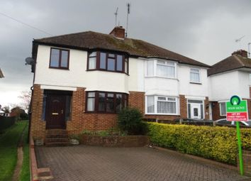 Thumbnail 3 bed semi-detached house to rent in Shelley Road, Maidstone