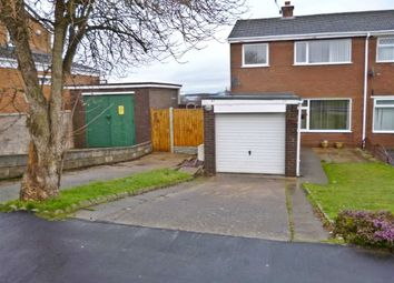 Thumbnail 3 bed semi-detached house to rent in St. Davids Drive, Deeside, Clwyd