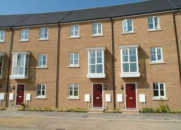 Thumbnail 4 bedroom town house to rent in New Lakeside, Hampton Vale, Peterborough