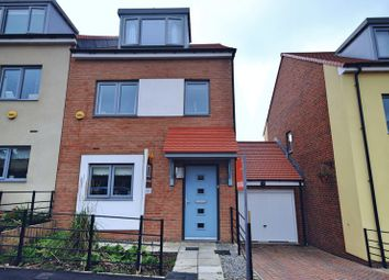 Thumbnail 3 bed town house for sale in Featherwood Avenue, Newcastle Upon Tyne