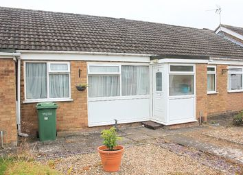 Thumbnail 1 bed terraced bungalow for sale in Torrington Close, Wigston, Leicester