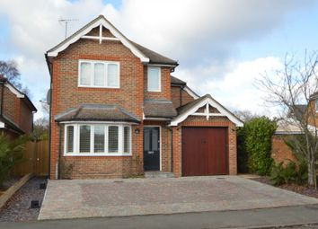 Thumbnail 4 bed detached house to rent in Slade Road, Ottershaw, Chertsey