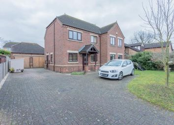 Thumbnail 4 bed detached house for sale in Denefield, Skellingthorpe, Lincolnshire