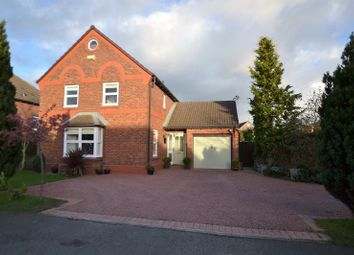 Thumbnail 4 bed detached house for sale in Warmingham Lane, Middlewich