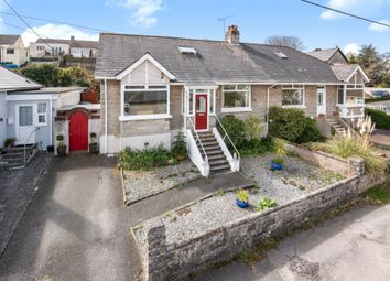 Thumbnail 3 bed semi-detached bungalow for sale in Moor View, Honcray, Plymouth, Devon