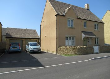 Thumbnail 5 bed detached house to rent in Morecombe Way, Fairford