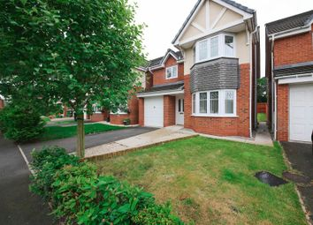 Thumbnail 4 bed detached house for sale in Wood Green Gardens, Orrell, Wigan