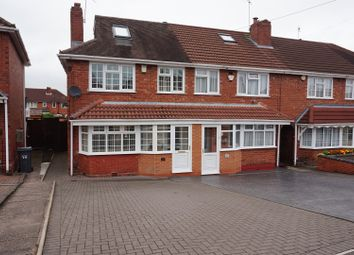 Thumbnail 4 bed end terrace house for sale in Tideswell Road, Great Barr, Birmingham