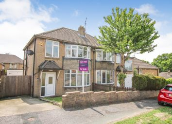 Thumbnail 3 bed semi-detached house for sale in Carr Manor Mount, Leeds