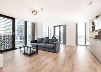 Thumbnail 2 bed flat for sale in Stratosphere Tower, Grteat Eastern Road, London