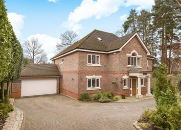 Thumbnail 6 bed detached house for sale in Amber Hill, Camberley