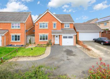 Thumbnail 4 bedroom detached house for sale in Lyveden Way, Corby