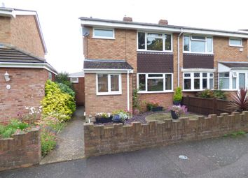 Thumbnail 3 bed semi-detached house to rent in Aldens Mead, Bedford