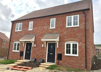 Thumbnail 2 bed semi-detached house for sale in Speedwell Close, Newark