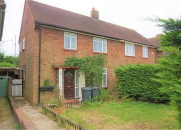 Thumbnail 3 bed semi-detached house to rent in Clevedon Road, Luton