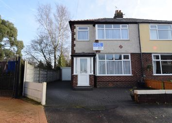 Thumbnail 3 bedroom semi-detached house for sale in The Crescent, Lostock Hall, Preston