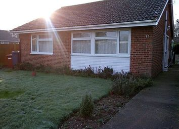 Thumbnail 3 bedroom bungalow to rent in Woodfield, Dereham