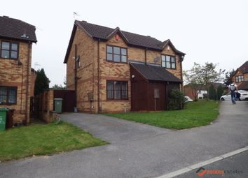 Thumbnail 2 bedroom semi-detached house to rent in Heron Drive, Lenton, Nottingham