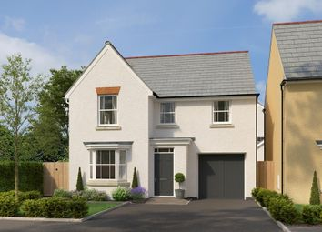 "Thumbnail 4 bedroom detached house for sale in ""Millford"" at Post Hill, Tiverton"