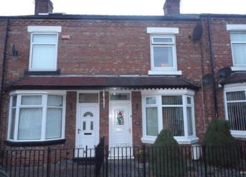 Thumbnail 2 bed terraced house for sale in Hamsterley Street, Darlington